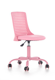 Fotel młodzieżowy PURE - różowy