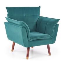 Fotel REZZO - ciemny zielony
