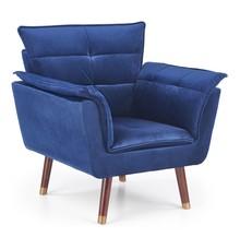 Fotel REZZO - granatowy