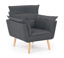 Fotel REZZO - popielaty