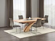 Stół rozkładany SANDOR 160x90 - dąb złoty