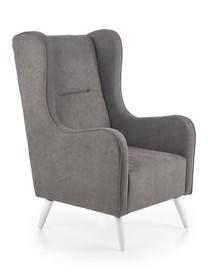Fotel wypoczynkowy CHESTER - ciemny popiel