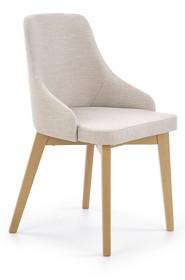 Krzesło TOLEDO - dąb miodowy/jasny beżowy Inari 22