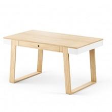 Funkcjonalny stół', pasuje zarówno do szybkiego posiłku, jak i obiad. Łączy nowoczesną… formę z wielofunkcjonalnoś›cią. Materiał: -korpus:...
