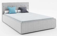 Łóżko PREMIUM 120 z kolekcji MIO  Tapicerowane łóżko MIO z francuskim szwem idealnie wpisuje się obecne trendy wzornicze. Ramę łóżka okala...