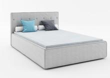Łóżko PREMIUM 160 z kolekcji MIO  Tapicerowane łóżko MIO z francuskim szwem idealnie wpisuje się obecne trendy wzornicze. Ramę łóżka okala...
