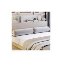 Wałki (2szt.) do łóżka 140x200 z kolekcji TOSO Wymiary: szerokość: 70 cm średnica: 24 cm