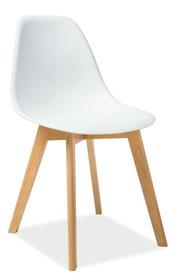 Krzesło MORIS - biały