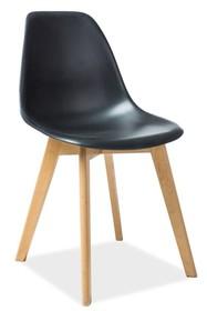 Krzesło MORIS - czarny