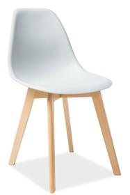Krzesło MORIS - jasny szary
