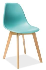 Krzesło MORIS - miętowy
