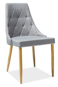 Krzesło TRIX II - szare