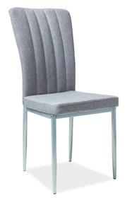 Krzesło H-733 - szary/aluminium