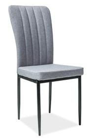 Krzesło H-733 - szary/czarny