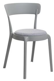 Krzesło FLUFFI - szary moss