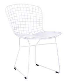 Krzesło NET SOFT - biały