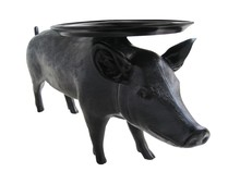 Stolik PORC UP - czarny