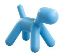 Stołek PIESEK - niebieski
