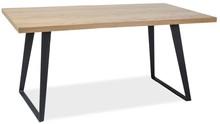 Stół Falcon na pewno zadowoli wszystkich fanów stylu industrialnego. Zdecydowanie będzie pasował do salonu czy jadalni urządzonej w tym właśnie stylu....