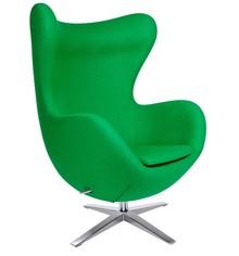 Fotel EGG SZEROKI - zielony