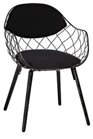 Krzesło DEMON - czarny