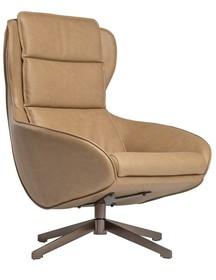 Fotel ELIOT brązowy