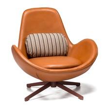 Fotel MOMMA brązowy