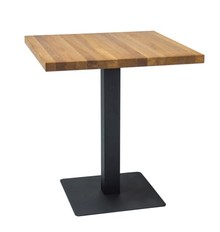Stół PURO 60x60 - okleina naturalna