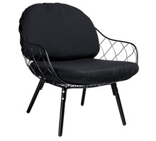 Fotel DEMON - czarny