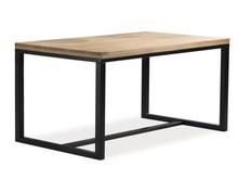 Stół LORAS A 180x90 - lity dąb/czarny
