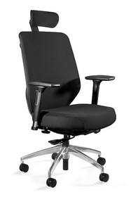 Fotel HERO czarny tkanina  Wymiary:  - Wysokość: 114-130 cm - Szerokość: 70 cm - Głębokość: 73 cm   Cechy:  - Siedzisko, oparcie i...
