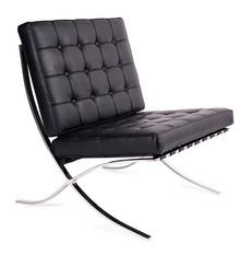 Fotel BARCELON - czarny