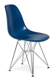 Krzesło DSR SILVER - atramentowy