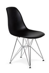 Krzesło DSR SILVER - czarny
