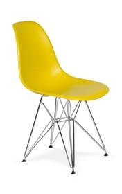 Krzesło DSR SILVER - oliwkowy