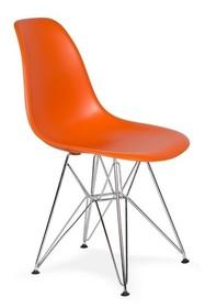 Krzesło DSR SILVER - sycylijska pomarańcz
