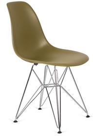 Krzesło DSR SILVER - zielona herbata