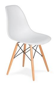 Krzesło DSW WOOD - biały
