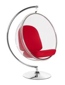 Fotel BUBBLE STAND - czerwony