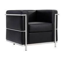Fotel SOFT LC2 - czarny