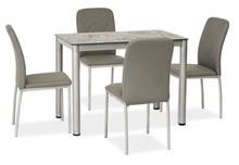 Stół DAMAR 80x60 - szary