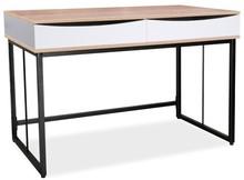 BIURKO B-170 DĄB / CZARNY Niezwykłe biurko B-170 to mebel bardzo oryginalny i designerski, który przypadnie do gustu nawet najbardziej wymagającym...