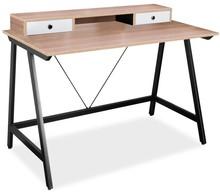 BIURKO B-178 DĄB / CZARNY Niezwykłe biurko B-178 to mebel bardzo oryginalny i designerski, który przypadnie do gustu nawet najbardziej wymagającym...
