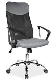 FOTEL OBROTOWY Q-025 SZARY MATERIAŁ Bardzo funkcjonalny fotel obrotowy Q-025 dostępny jest w kilku bardzo żywych kolorach, co z pewnością przypadnie do...