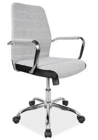 FOTEL OBROTOWY Q-M3 SZARY Niezwykle nowoczesny i oryginalny fotel obrotowy Q-M3 z pewnością przypadnie do gustu nawet najbardziej wymagającym klientom...