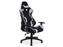Fotel obrotowy VIPER - czarny/szary