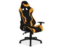 Fotel obrotowy VIPER - czarny/żółty