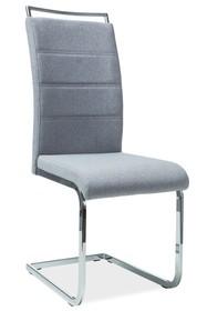 Krzesło H-441 tkanina - szary