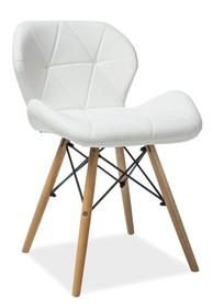 KRZESŁO MATIAS BUK/BIAŁY Matias to bardzo nowoczesne i stylowe krzesło, które przypadnie do gustu nawet najbardziej wymagającym klientom. Dzięki bardzo...