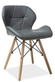 KRZESŁO MATIAS BUK/SZARY Matias to bardzo nowoczesne i stylowe krzesło, które przypadnie do gustu nawet najbardziej wymagającym klientom. Dzięki bardzo...